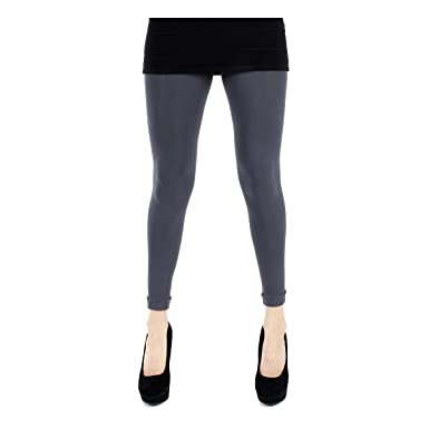 49d1fe0fac10e Pamela Mann 80 Denier Opaque Footless Tights - Slate Grey: Amazon.co.uk:  Clothing