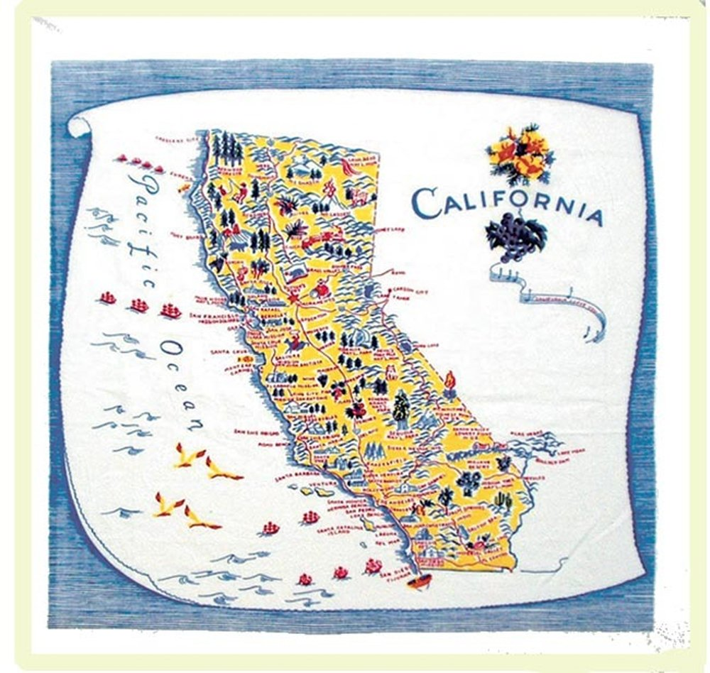 California Kitchen Towel