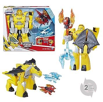 Bumblebee Rescue 1 Robot Bots 25cm Transformable Transformers 2 En Jouet Dragon UqzpSVGM
