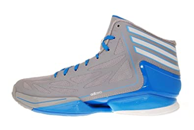 6991962dda15 Image Unavailable. Image not available for. Color  adidas adizero Crazy  Light 2 Grey Blue Derrick Rose ...