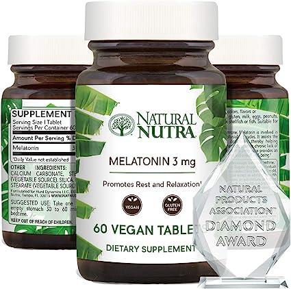 Natural Nutra Vegan Melatonin