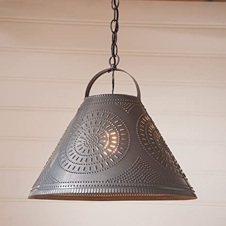 tin lighting. Plain Lighting Homestead Shade Pendant Light In Punched Tin To Lighting I