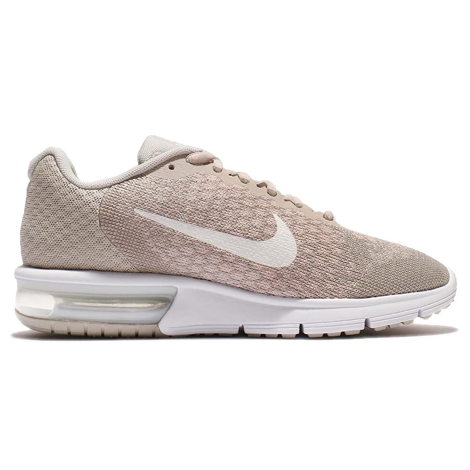 NIKE Men's Air Max B007T84FJ8 Sequent 2 Running Shoe B007T84FJ8 Max 11 B(M) US|Pale Grey/Sail-light Bone-sunset Tint 8601f2