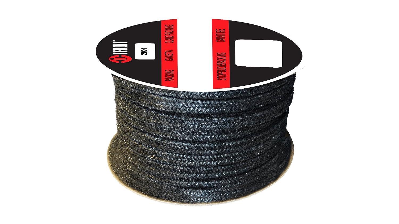 Sterling Seal and Supply Graphite Filled 2001.500x25 2001 Teadit Style Graphite Yarn STCC 1//2 CS x 25 lb Spool Spool 1//2 CS x 25 lb