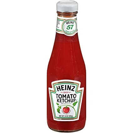 Amazon.com : Heinz Ketchup (14 oz Bottles, Pack of 24) : Grocery & Gourmet  Food