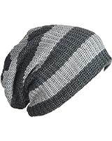 Mens Slouchy Long Beanie Knit Cap for Summer Winter Oversize