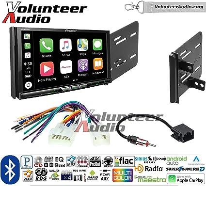 Amazon com: Volunteer Audio Pioneer AVH-W4400NEX Double Din Radio