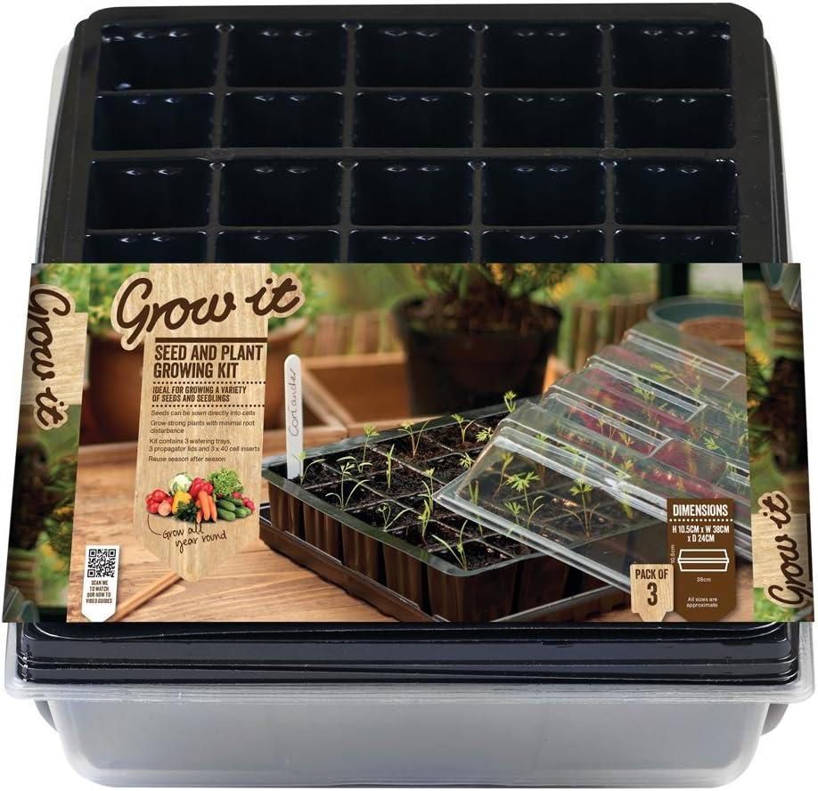 Gardman - Set de Cultivo para esquejes y Semillas