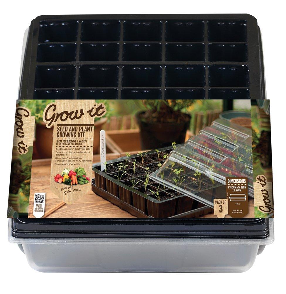 Gardman - Set de cultivo para esquejes y semillas 08624