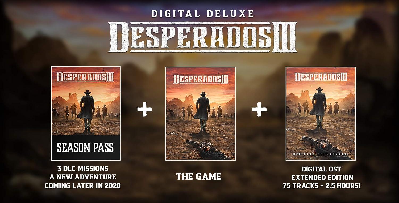Amazon Com Desperados Iii Digital Deluxe Edition Pc Online Game Code Video Games