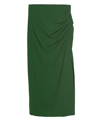 Zara 8349/703/500 - Falda de Tubo para Mujer Verde XXL: Amazon.es ...