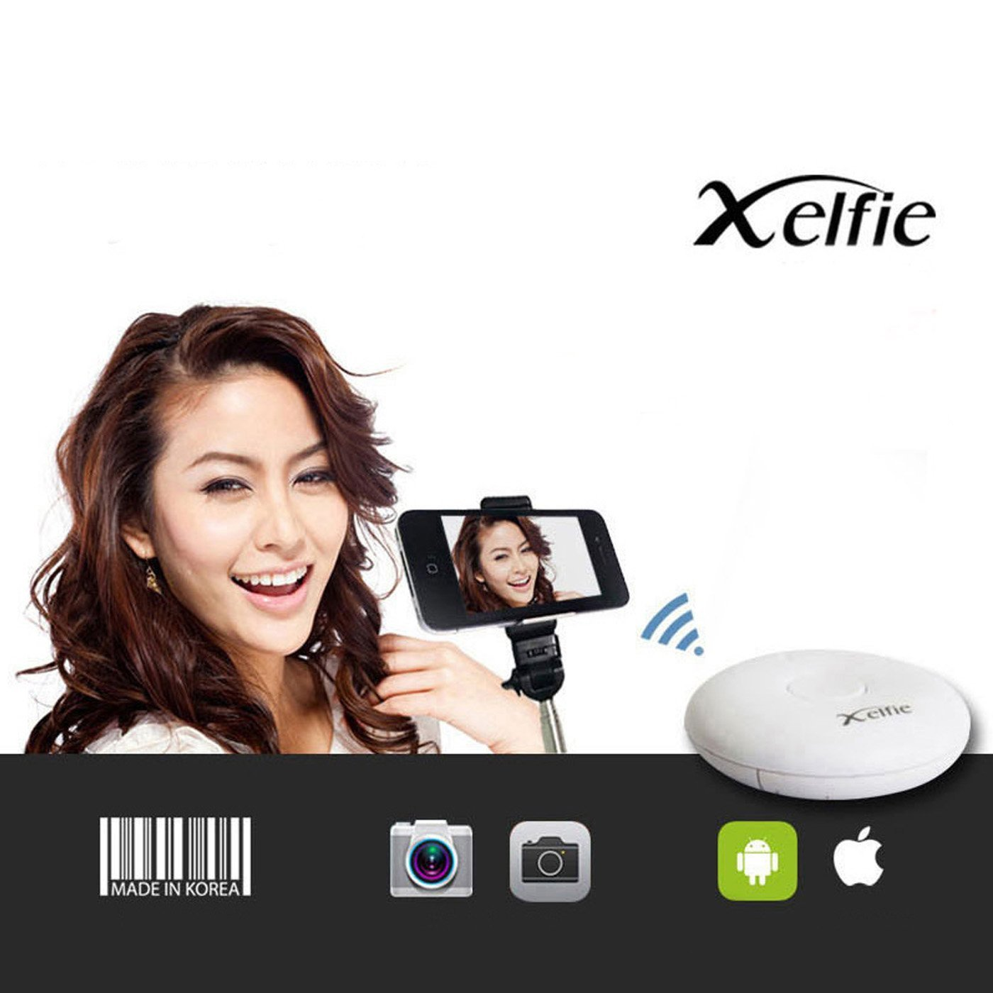 Xelfie Smart Phone Camera Auto-Remote Control Shutter iOS7 Android 4.4.2 New