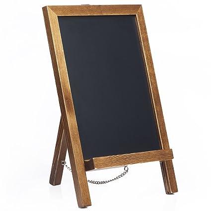 "Amazon.com: Cedar Markers 14""x9.5"" Unfinished Wood Framed Chalkboard ..."
