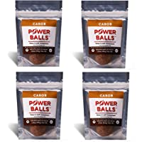 Paleo Angel Power Balls Healthy Paleo Approved Gluten Free AIP Protein Snack Bars (Carob 4-Pack)