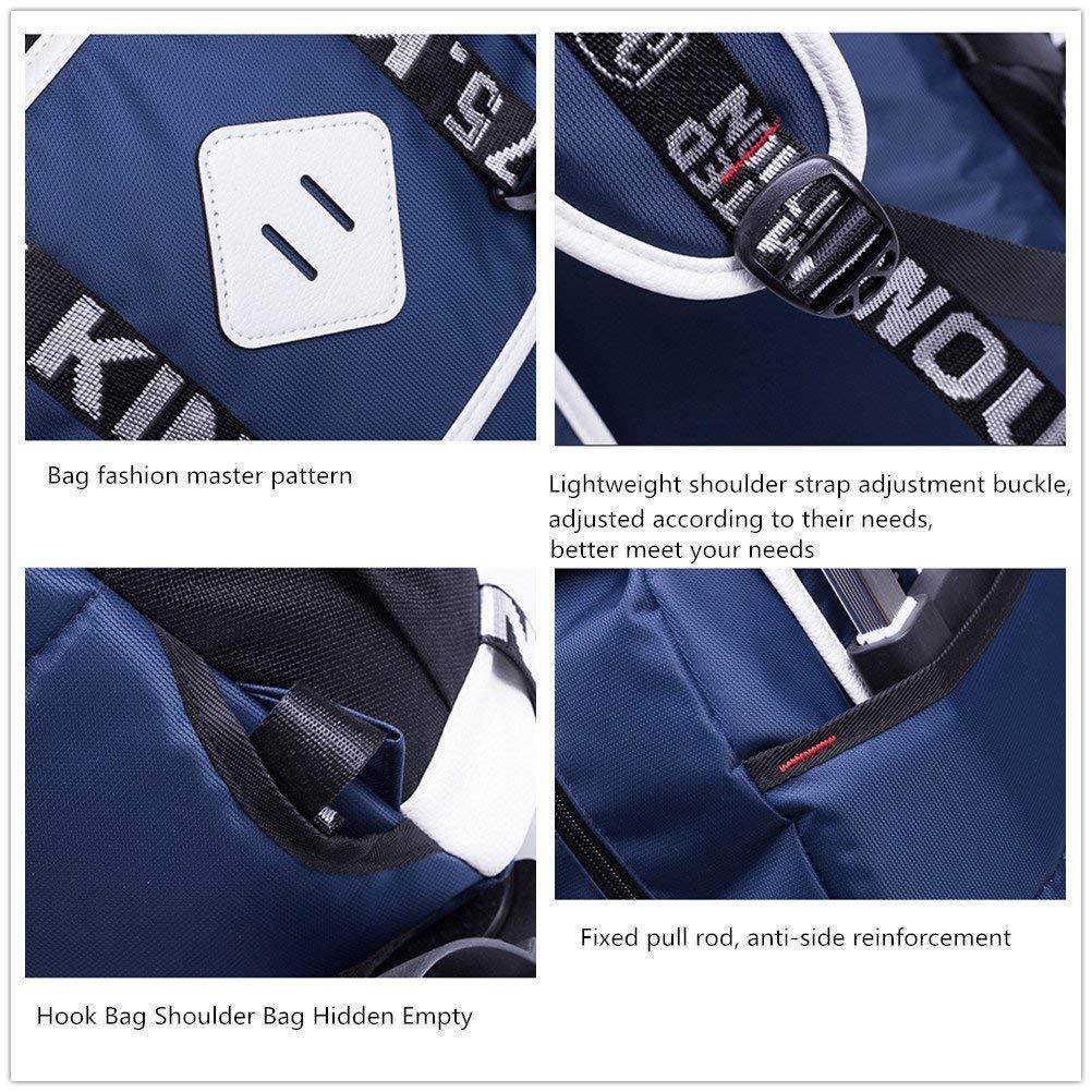 C-Xka sechs Runden Multi-Funktions-Rollen-Rucksack Vorschule Trolley Book Book Book Bag Removable rotuzieren Sie die Belastung Wheeled Schultasche für Kinder B07JPB954L | Qualität zuerst  | Zu einem niedrigeren Preis  | Offizielle Webseite  afc6c1