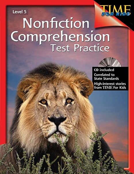 Nonfiction Comprehension Test Practice Level 5: Shell Education ...