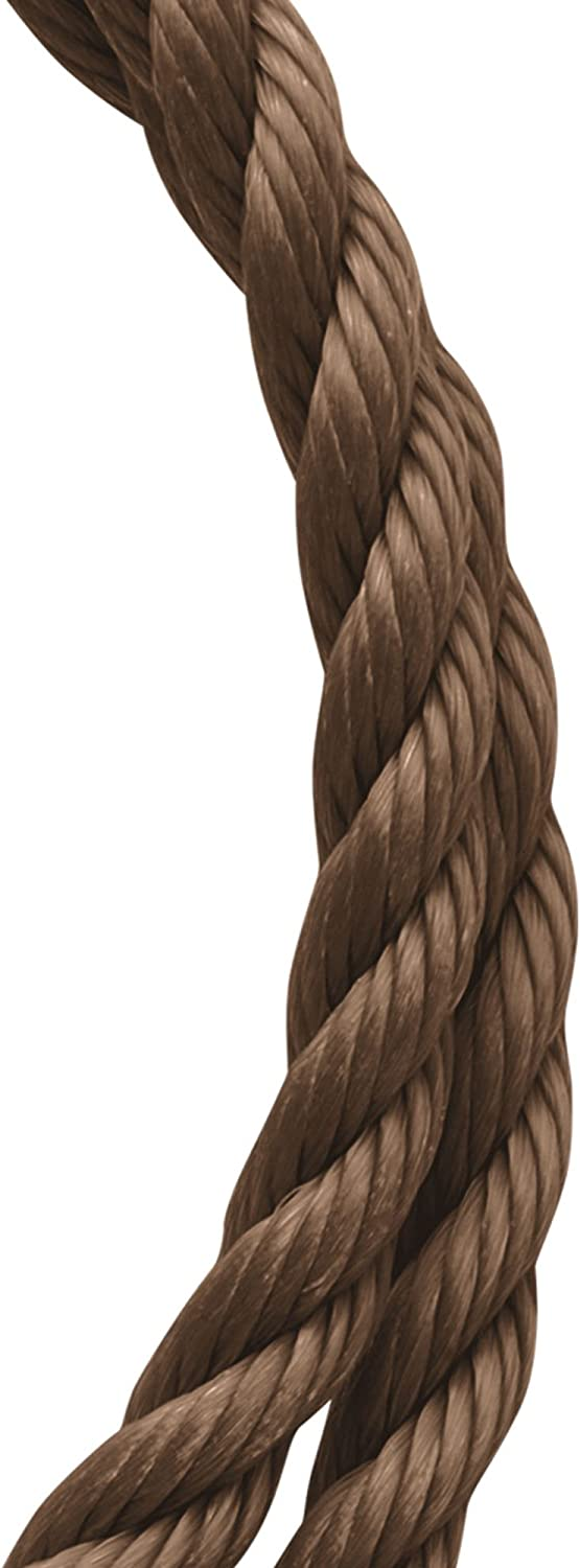 Coil Koch Industries Twisted Polypropylene Rope 1//4 Inch by 50 Feet Brown