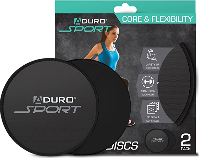 Exercise Core Sliders,Two Double-Sided Sports Slides Exercise on All Surfaces