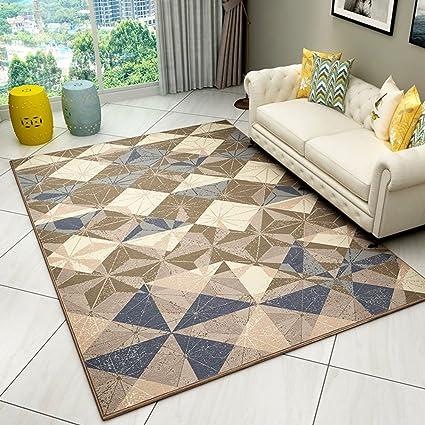 Resistente al desgaste Decoración alfombras,Geometría simple ...