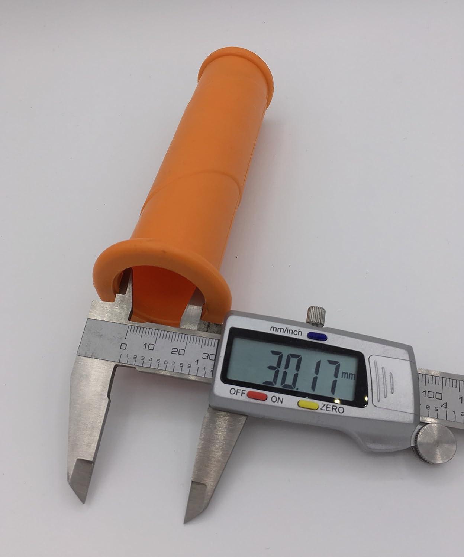orange lot de 4 Brouette Poign/ées 30/mm