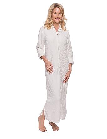 Noble Mount Women s Premium Coral Fleece Plush Caftan at Amazon Women s  Clothing store  d61ca1823