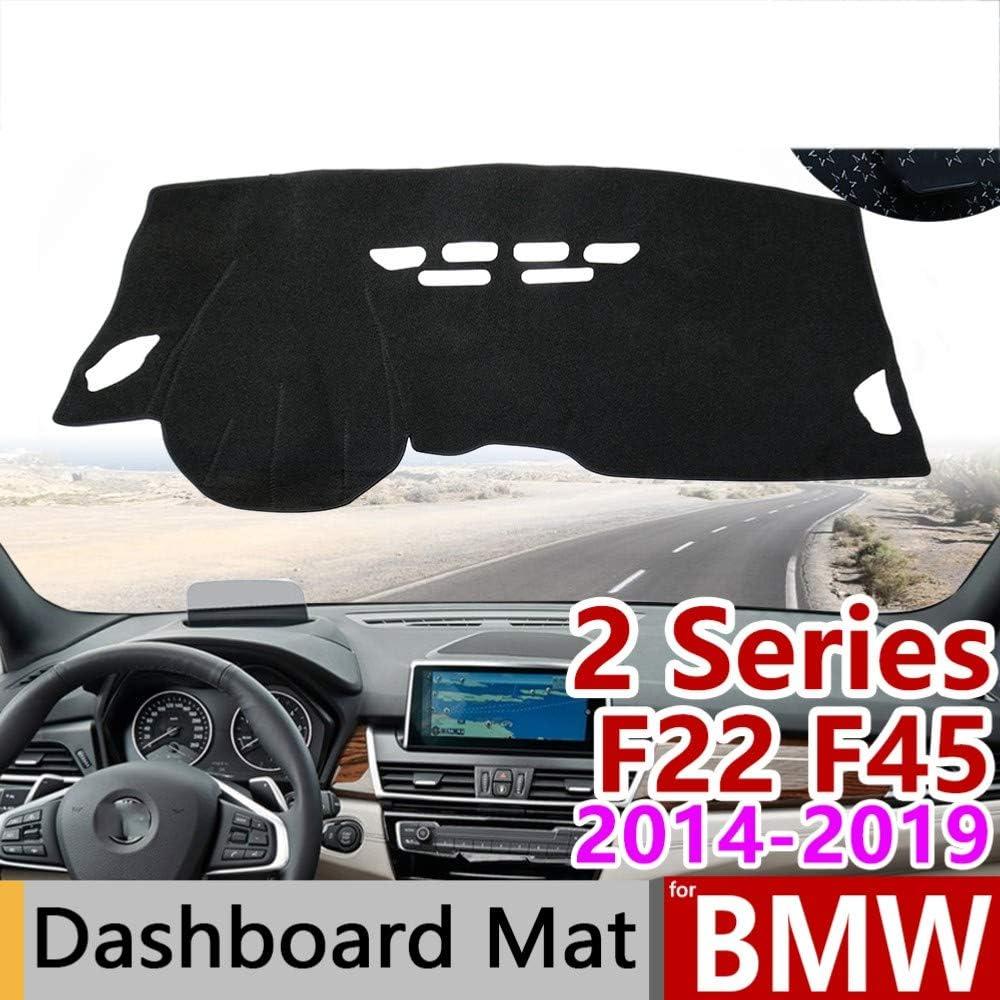 LOIJNAD Auto Instrumententafel Matte Instrumententafel Abdeckung rutschfeste Sonnenschutzmatte F/ür BMW 2er///F22 23///2012-2017 F/ür BMW 2er F45 F46 2014-2019