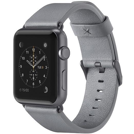 "3 opinioni per Belkin- Cinturino ""Business"" per Apple Watch & Apple Watch Serie 2- 42mm- Grigio"