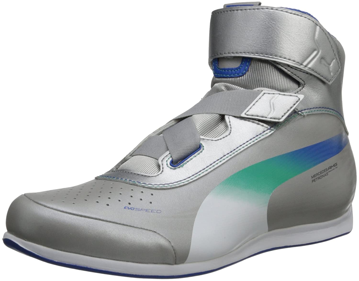 e3000eea3248 Puma Evospeed Mercedes 1.2 Mid Nm Fashion Sneaker  Amazon.co.uk  Shoes    Bags