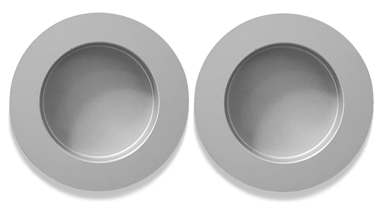 inova Star Griffmuschel Griff 2er Set Aluminium Silber 60mm Zubehör ...