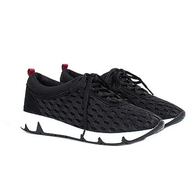 051e91175bac45 Parfois - Chaussures Basket sans Talon Noir - Femmes - Taille 42 - Noir