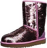 UGG Women's W Classic Short Sequin Fashion Boot