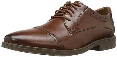 Clarks Garren Cap Tan Leather 8640