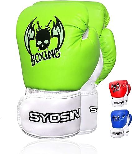 2Pcs Kids Boxing Gloves Children Training Punching Bag Kickboxing Mitts Training