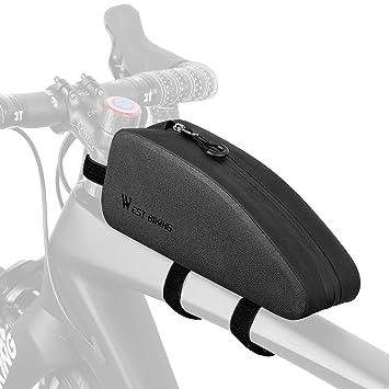 Amazon.com: Tubo superior triangular para bicicleta, bolsa ...
