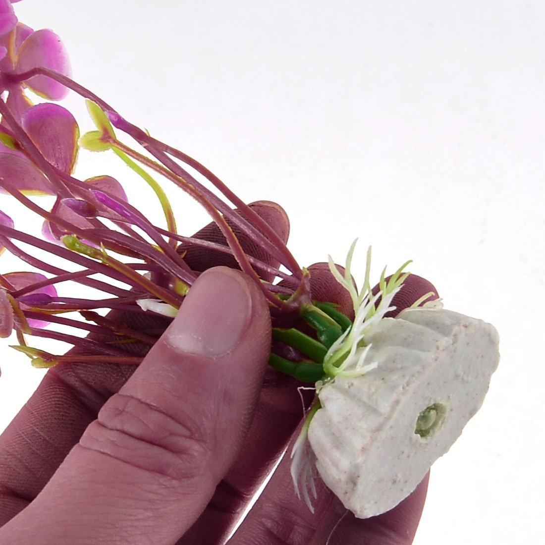 Amazon.com : eDealMax Plantas acuario de plástico Adorno de simulación de la hierba acuática 11cm Alto : Pet Supplies