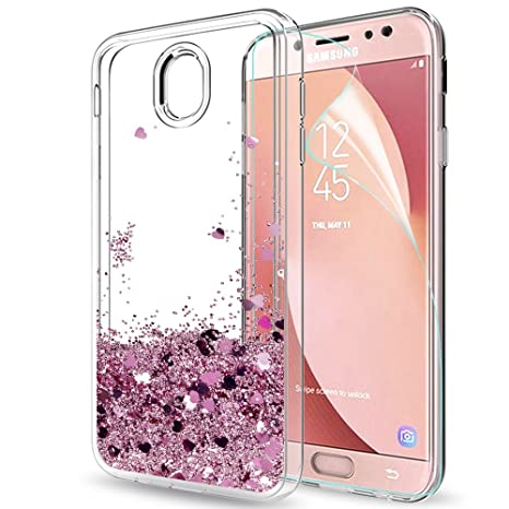 custodia samsung j7 2017 brillantini