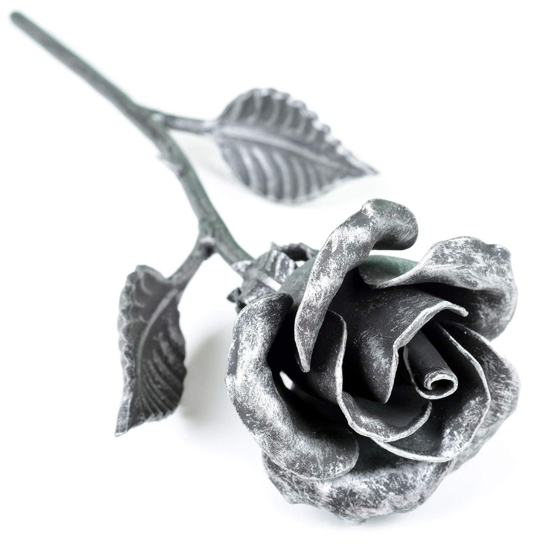 Handmade Metal Forever Rose - Unique Anniversary Gift