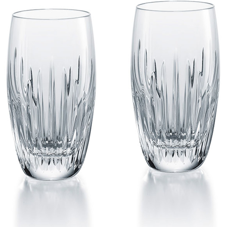 Baccarat Crystal Massena Highball - Clear - Set of 2
