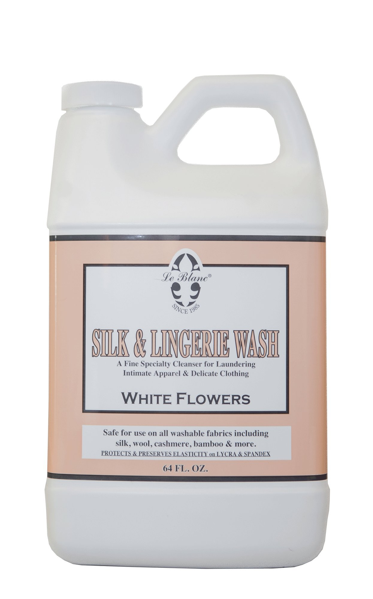 Le Blanc® White Flowers Silk & Lingerie Wash - 64 FL. OZ, One Pack by Le Blanc