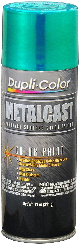 Dupli-Color (EMC203007-6 PK) Green Anodized Coating - 11 oz. Aerosol, (Case of 6)