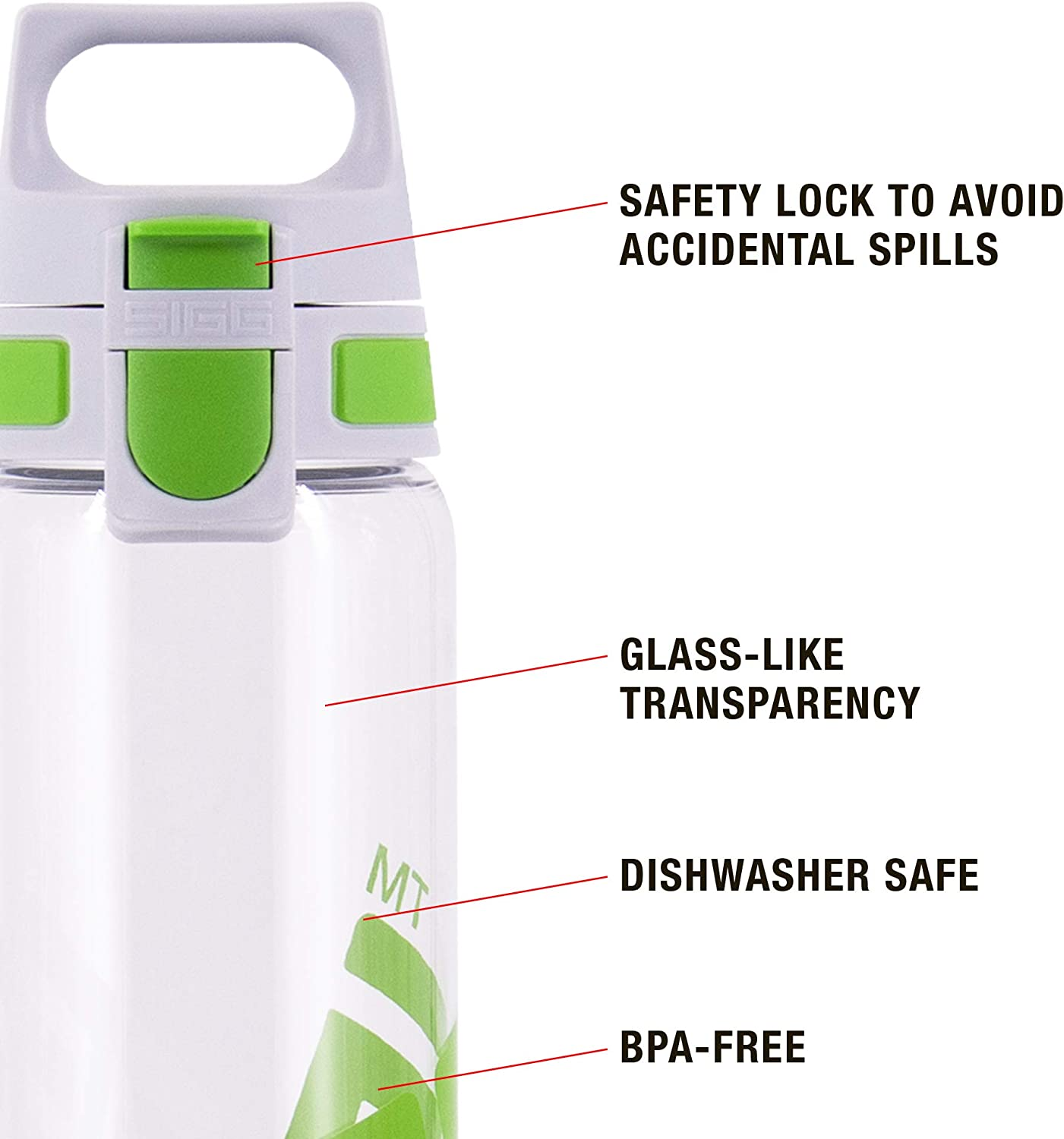 SIGG 8633.9 Total Clear One Trinkflasche