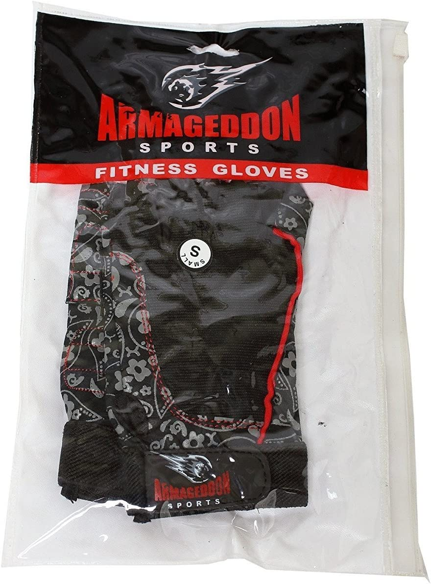 ARMAGEDDON SPORTS Gym Weight Lifting Gloves Women Workout Fitness Ladies Bodybuilding Crossfit Breathable Powerlifting