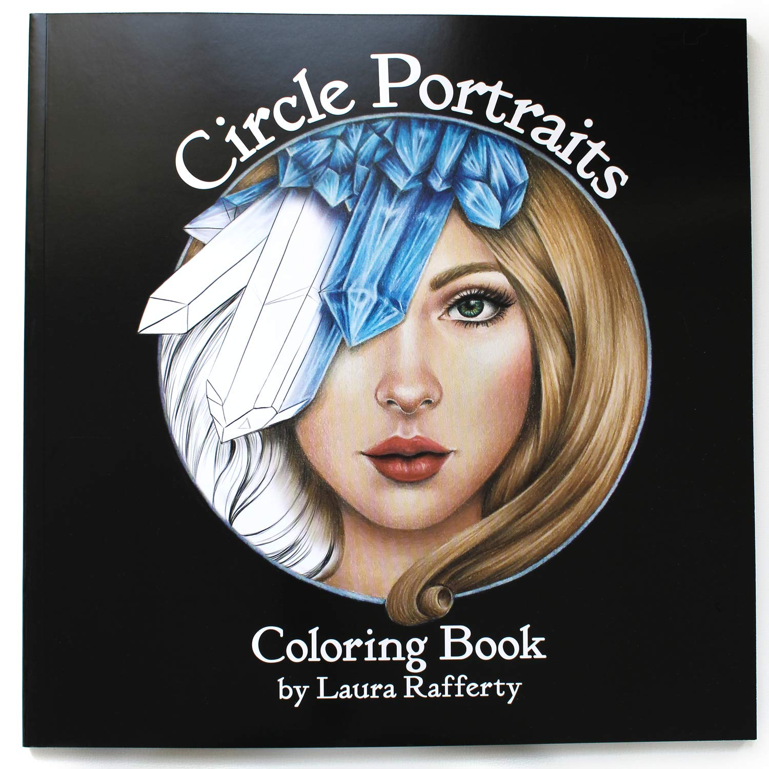 Circle Portraits Coloring Book Standard First Edition