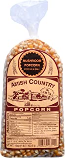 product image for Amish Country Popcorn | 1 lb Bag | Mushroom Popcorn Kernels | Old Fashioned with Recipe Guide (Mushroom - 1 lb Bag)