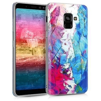 Amazon.com: kwmobile - Carcasa para Samsung Galaxy A8 (2018 ...