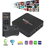 YoungGo 2017 MXQ Pro Android TV BOX Amlogic S905X [1G/8G] Android 6.0 OS Quad Core 4K Support WiFi HDMI DLNA With Free 2.4GHz Smart Wireless Keyboard