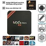 Leelbox 2017  MXQ Pro Android tv box Kodi 16.0 Android 5.1 Amlogic S905 Quad Core 1gb RAM 8gb Flash Support Wifi 4K Google Streaming Media Players