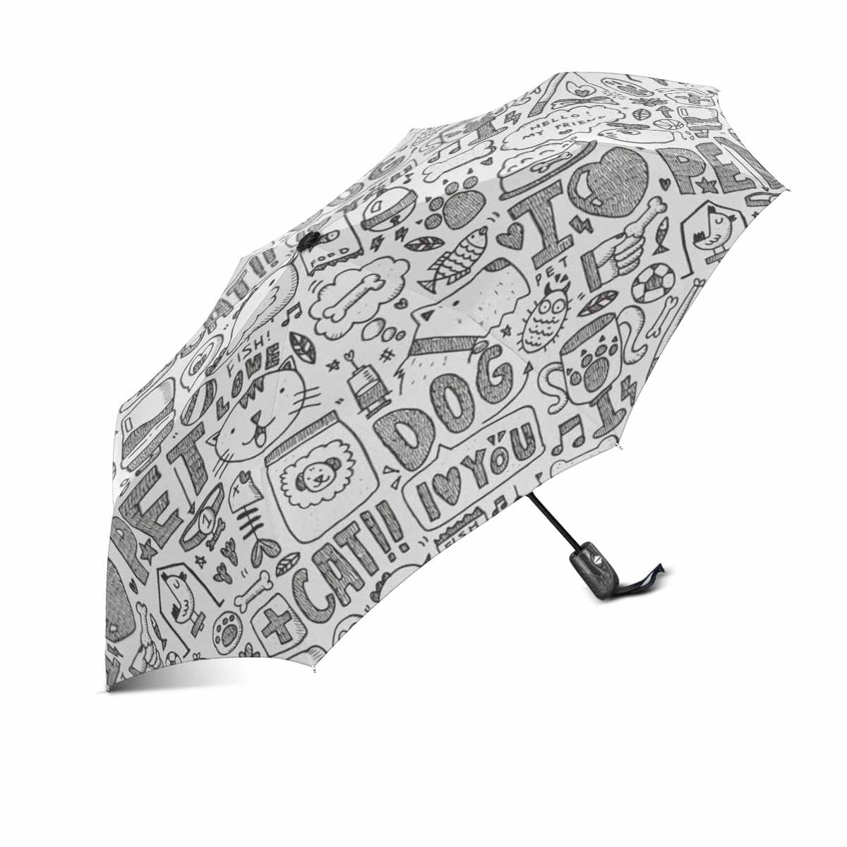 picture about Umbrella Pattern Printable referred to as : doodle dog behavior print upon Umbrella Computerized