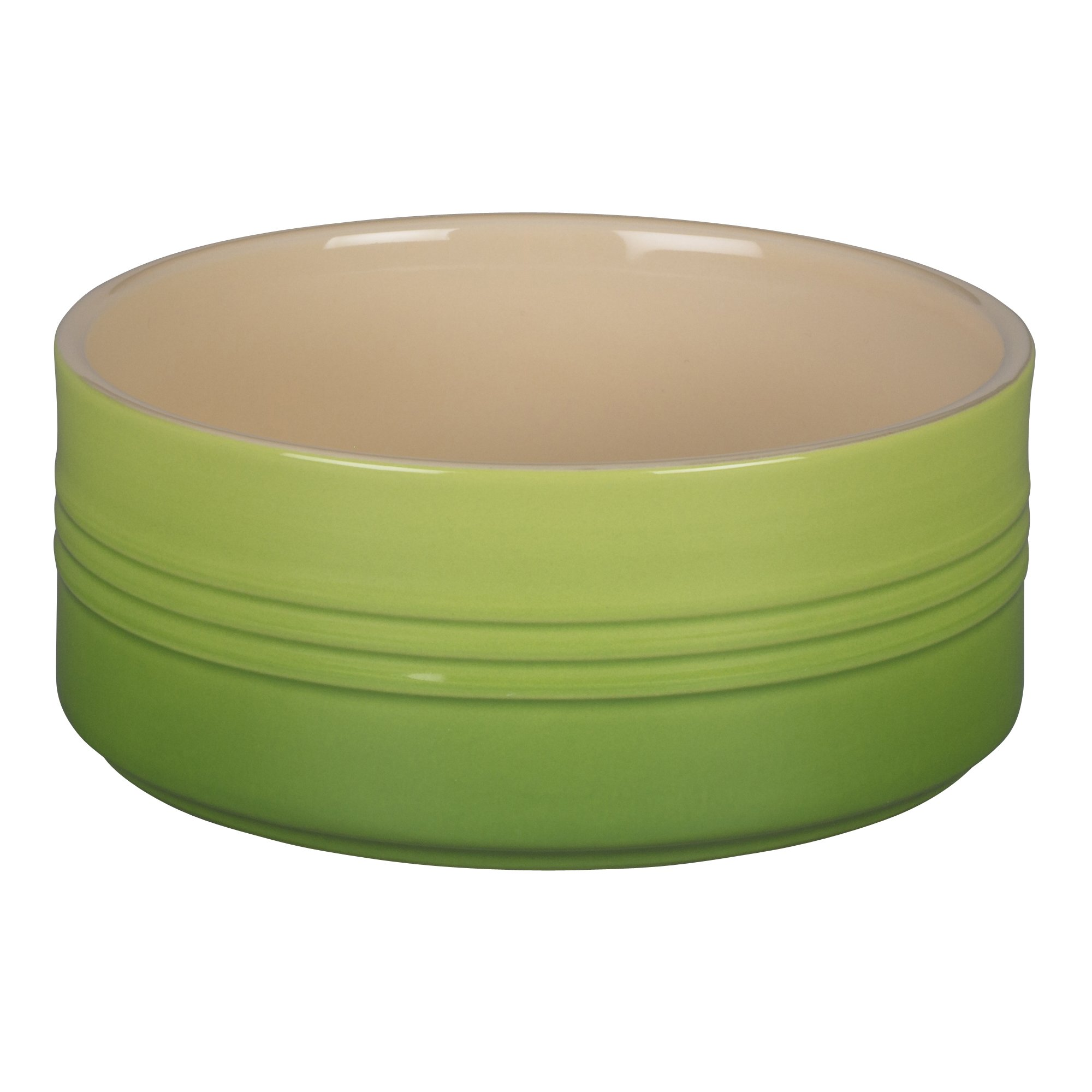 Le Creuset Stoneware Souffle Dish, 1-Quart, Palm