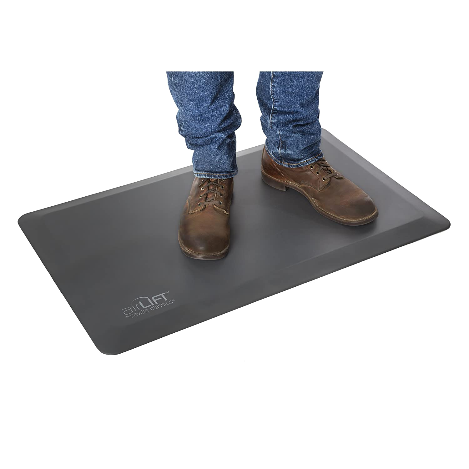 Seville Classics AIRLIFT Anti-Fatigue Comfort Mat for Standing Desks Kitchens, 20